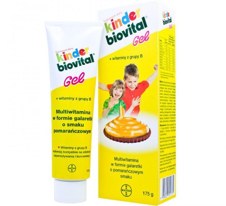 Киндер биовиталь для детей