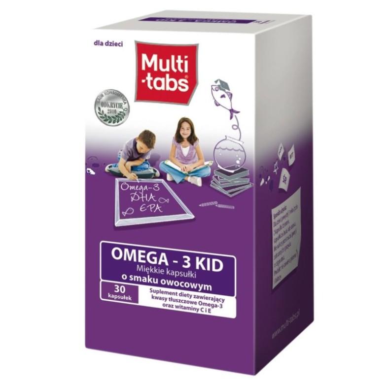 Мульти-табс Омега-3
