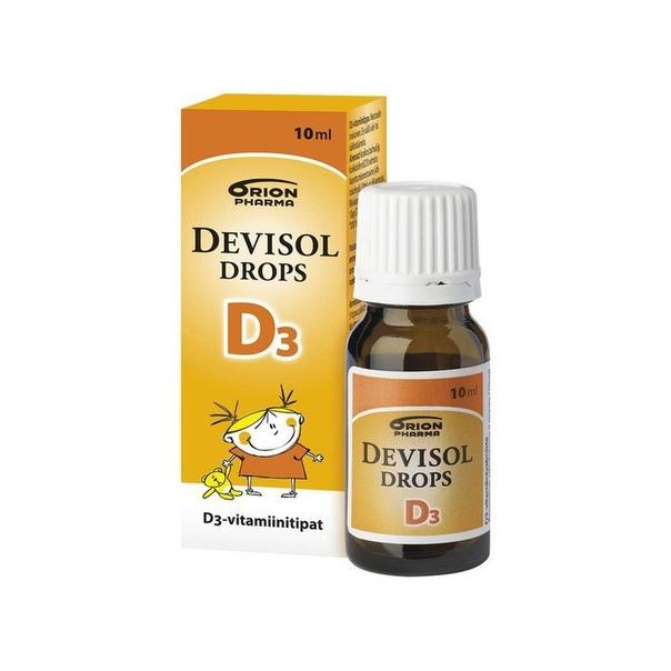 Orion Pharma DEVISOL DROPS d3