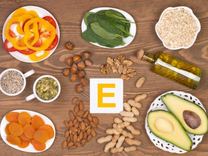 Витамины Е в продукте