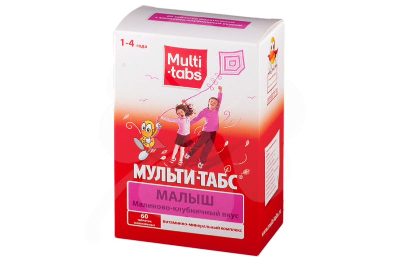 Мульти-табс витамины для детей