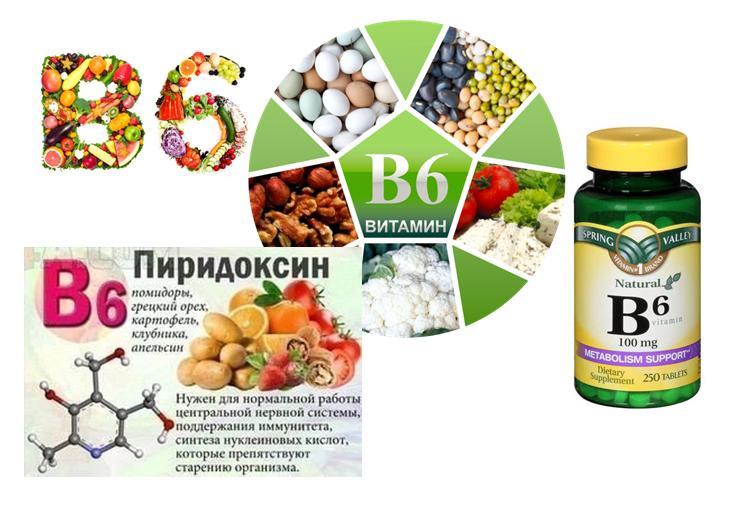 Витамин В6 для детей