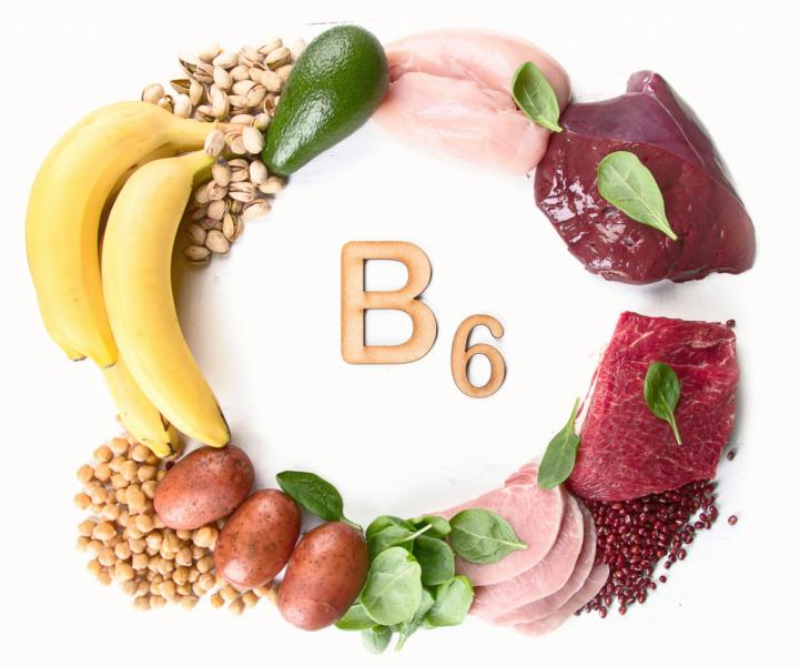 Витамин в6 в еде