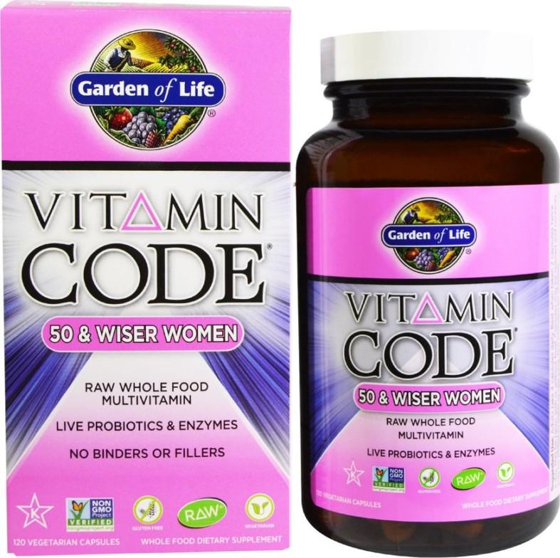 Vitamin Code 50 & Wiser Women