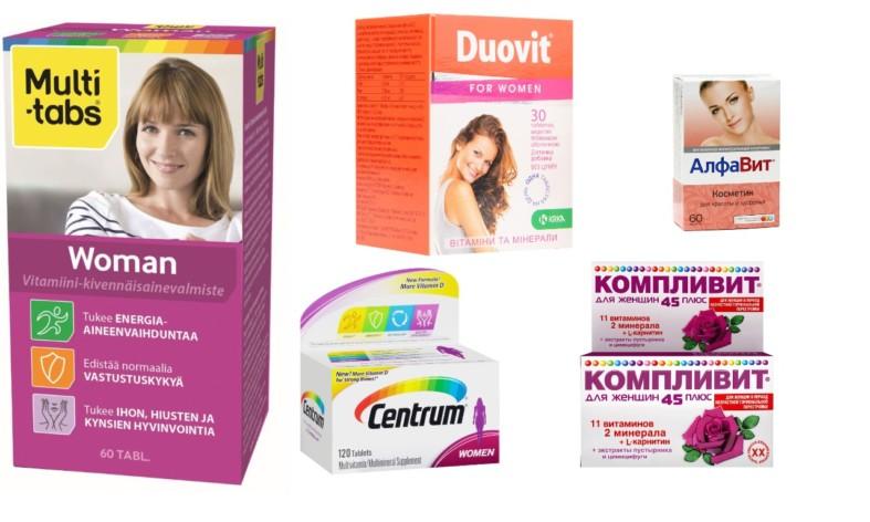 Витамины для иммунитета женщины