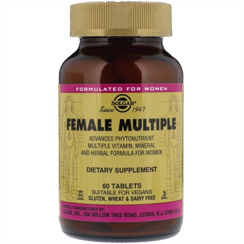 Female Multiple. Solgar