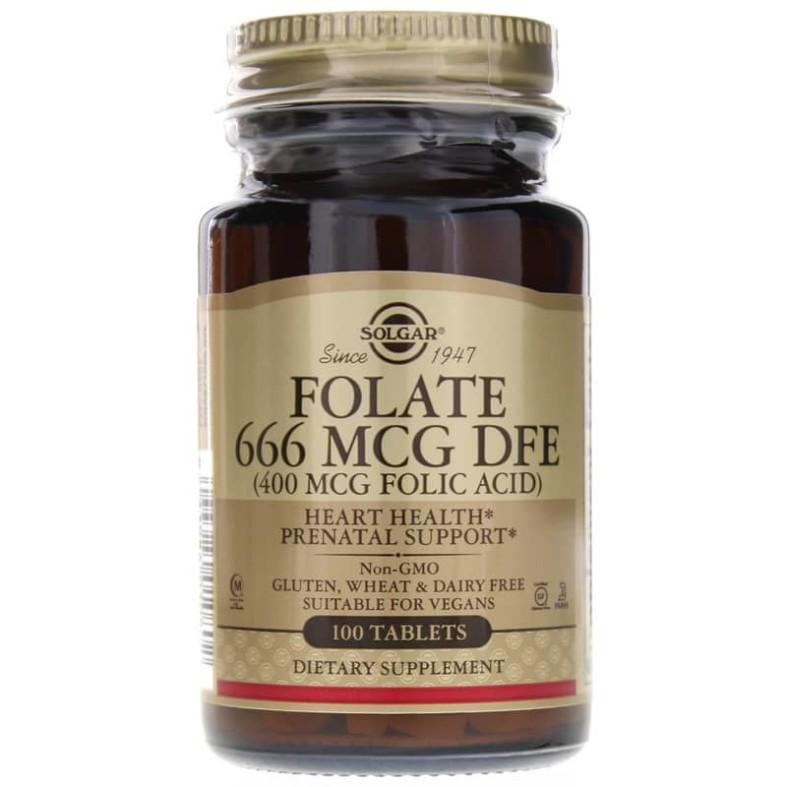 Folate 666 MCG DFE