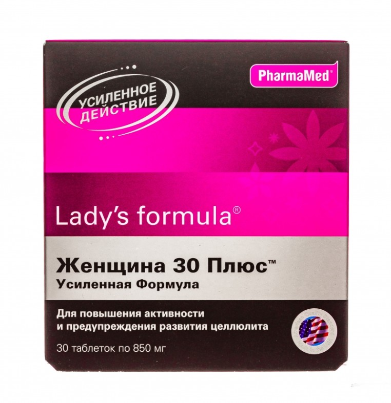 Леди Формула витамины Женщина 30