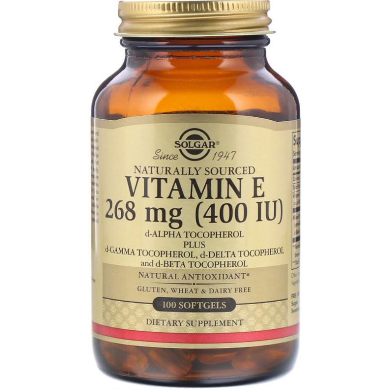 Naturally Sourced Vitamin E